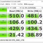 [ICT] ベンチマーク CFD販売 内蔵SSD 2.5インチ MG4VTシリーズ 1TB CSSD-S6B01TMG4VT