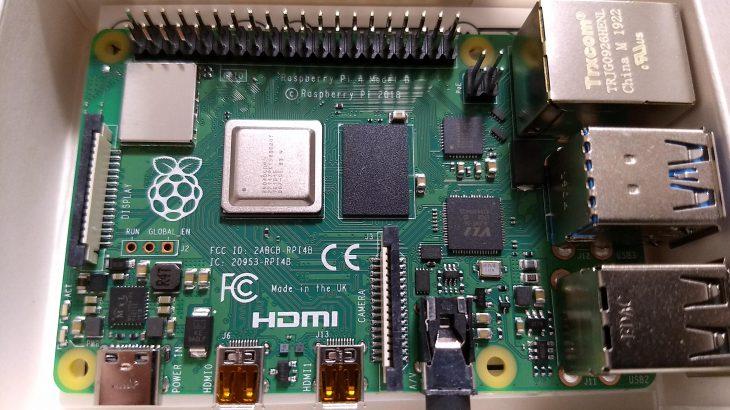 [IoT] ラズパイ4B RAM 4GB (英国版)を購入。技適は問題にならないです。記事をよく読んでね。